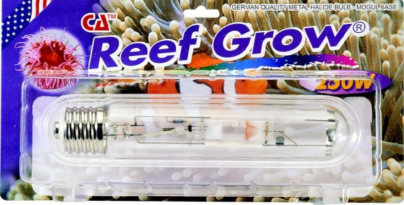 250 WATT METAL HALIDE 20K REEF GROW MOGUL