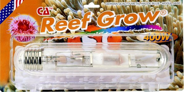 400 Watt METAL HALIDE 15K REEF GROW MOGUL